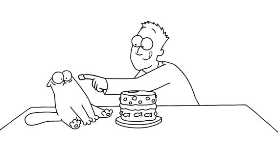 Purrthday Cake (A 10th Birthday Special) - Simon's Cat - SHORTS #75