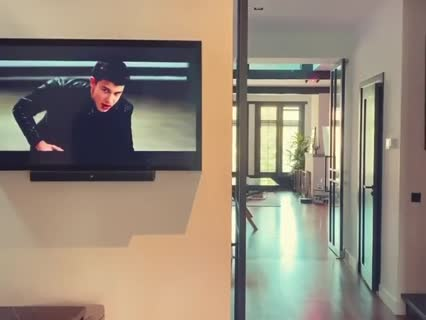 Don Diablo watches clips of Sean Mendes